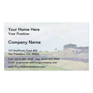 Isaac Levitan- Fields Double-Sided Standard Business Cards (Pack Of 100)