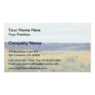 Isaac Levitan- Gray day Double-Sided Standard Business Cards (Pack Of 100)