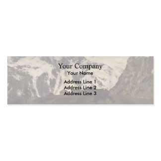 Isaac Levitan- In Alps Business Card Templates