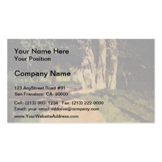 Isaac Levitan- In the park Double-Sided Standard Business Cards (Pack Of 100)