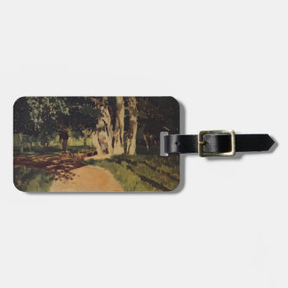 Isaac Levitan- In the park Luggage Tags