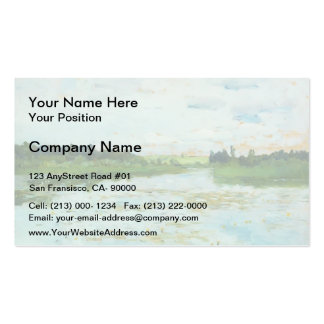 Isaac Levitan- Lake Double-Sided Standard Business Cards (Pack Of 100)