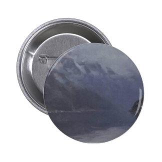 Isaac Levitan- Lake Como Pinback Buttons