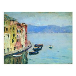 Isaac Levitan- Lake Como Postcard