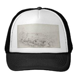 Isaac Levitan- Landscape at Volga Mesh Hats