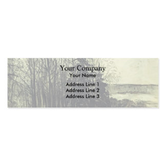 Isaac Levitan- Landscape Double-Sided Mini Business Cards (Pack Of 20)