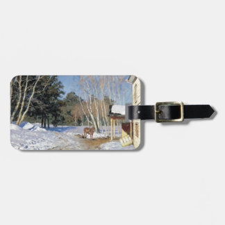 Isaac Levitan- March Luggage Tags