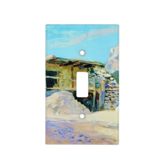 Isaac Levitan- Saklia in Alupka. Light Switch Cover