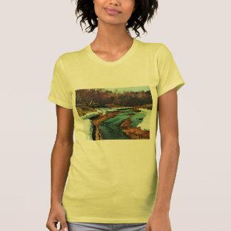 Isaac Levitan- Springtime. The Last Snow. Tee Shirt