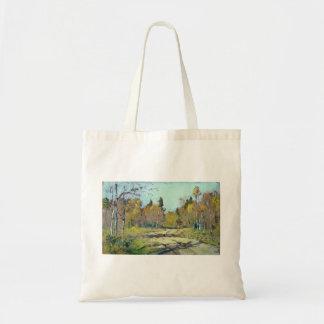 Isaac Levitan- Sunny autumn day Bag