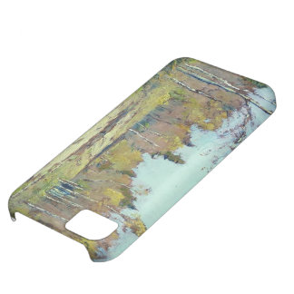 Isaac Levitan- Sunny autumn day iPhone 5C Cases