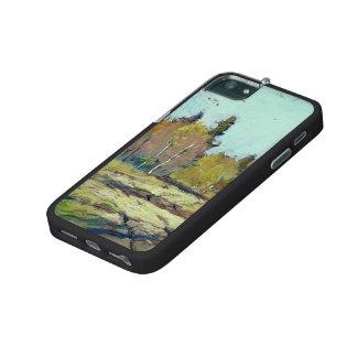 Isaac Levitan- Sunny autumn day iPhone 5/5S Case
