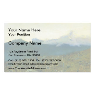 Isaac Levitan- Tatarian cemetery. Crimea. Double-Sided Standard Business Cards (Pack Of 100)