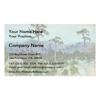 Isaac Levitan- Three pines Double-Sided Standard Business Cards (Pack Of 100)