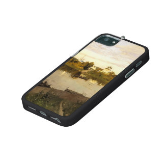 Isaac Levitan- Vesper chimes Case For iPhone 5