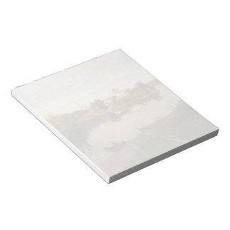 Isaac Levitan- Vesper chimes Note Pad