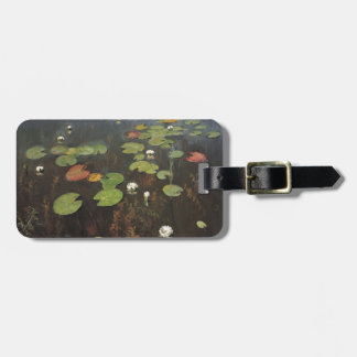 Isaac Levitan- Water lilies. Nenuphar. Luggage Tags