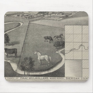 Isaac Mulholland Ranch and Residence, Kansas Mouse Pad