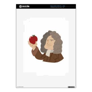 Isaac Newton Calcomanías Para El iPad 2