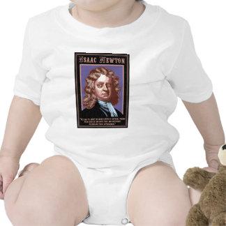 Isaac Newton - causas Traje De Bebé