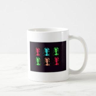 Isaac Newton Collage Coffee Mug
