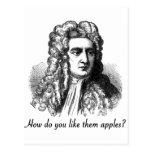 Isaac Newton - cómo hágale tienen gusto de ellos l Tarjeta Postal