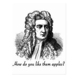 Isaac Newton - cómo hágale tienen gusto de ellos Postal