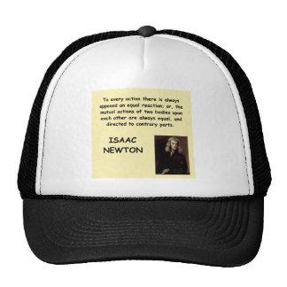 Isaac Newton Gorra