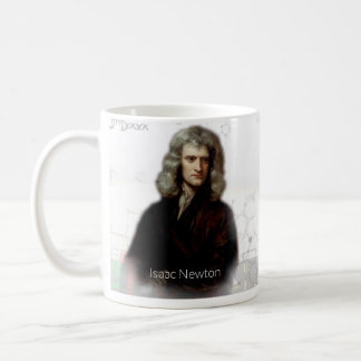 Isaac Newton Historical Mug
