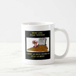isaac newton joke mugs