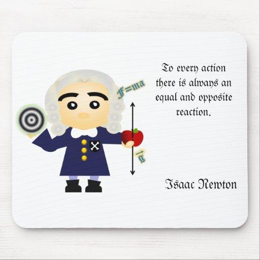 Isaac Newton Mousepad