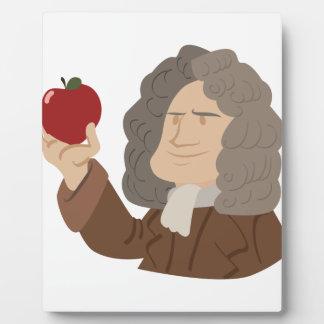 Isaac Newton Display Plaque