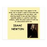 isaac newton postcard