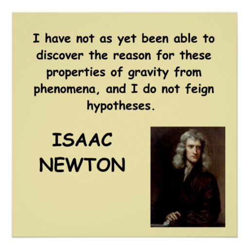 isaac newton posters