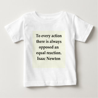 isaac newton quote baby T-Shirt