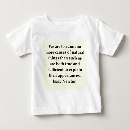 isaac newton quote shirts
