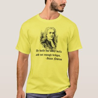 Isaac Newton Quotes T-Shirt