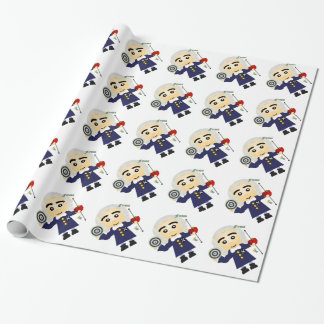 Isaac Newton Wrapping Paper