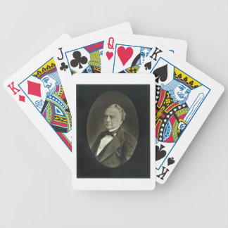 Isaac Pereire (1806-80), from 'Galerie Contemporai Bicycle Playing Cards