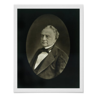 Isaac Pereire (1806-80), from 'Galerie Contemporai Print