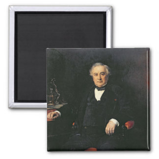 Isaac Pereire  1878 2 Inch Square Magnet