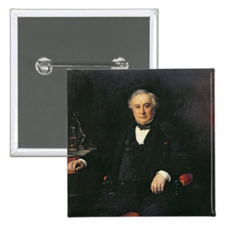 Isaac Pereire  1878 Pinback Button