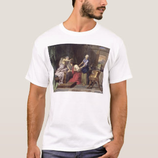 Isaac que bendice a Jacob, 1692 Playera