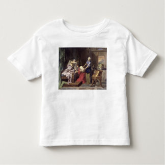 Isaac que bendice a Jacob, 1692 Playera De Bebé