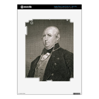Isaac Shelby (1750-1826) engraved by Asher Brown D iPad 3 Skins