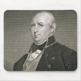 Isaac Shelby (1750-1826) engraved by Asher Brown D Mouse Pad