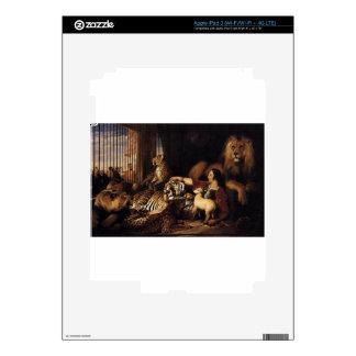 Isaac van Amburgh and his Animals by Edwin Henry L iPad 3 Skin