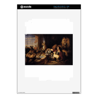 Isaac van Amburgh and his Animals by Edwin Henry L Skins For The iPad 2