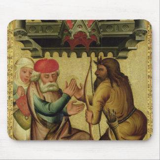 Isaac y Esau del alto altar Alfombrilla De Ratones
