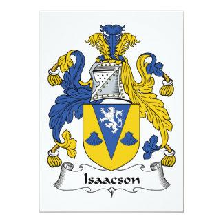 Isaacson Family Crest Card